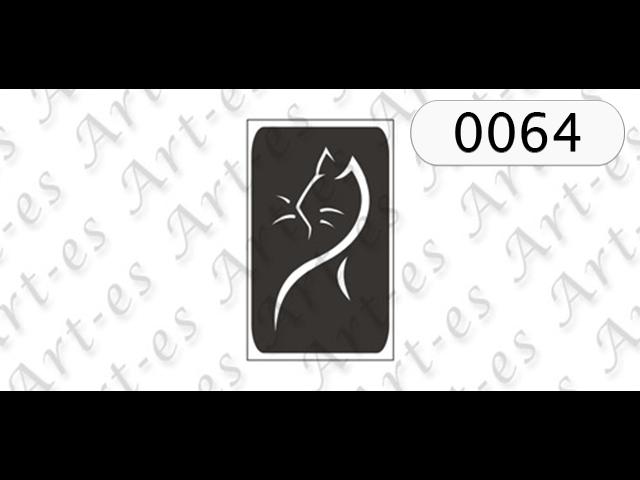Szablon Nr 0064 Kot