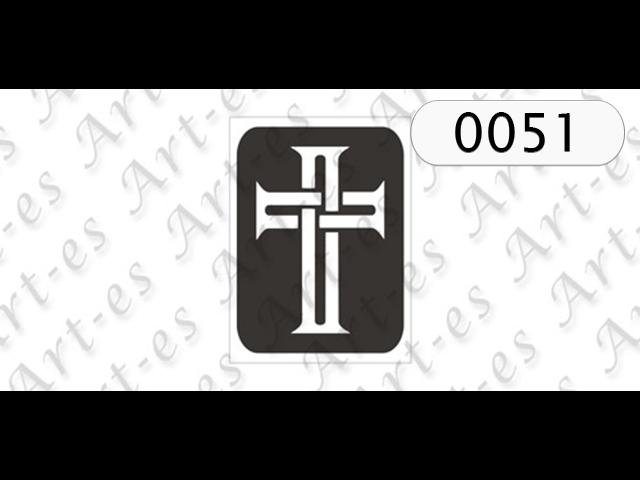 szablon do tatuażu Krzyż