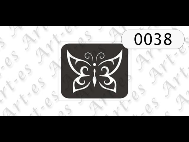 szablon do tatuażu Motyl