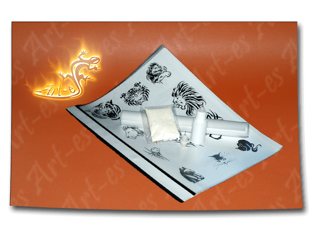 zestaw średni henna