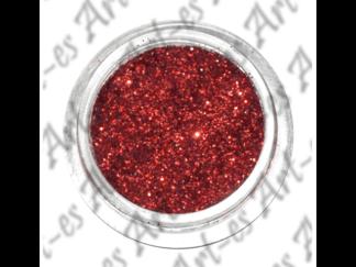 brokat kosmetyczny kolor Czerwony nr. 24