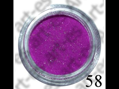 brokat kosmetyczny kolor UV Fioletowy nr. 58