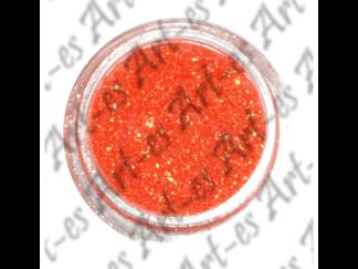 brokat kosmetyczny kolor Pomarańczowy nr. 16