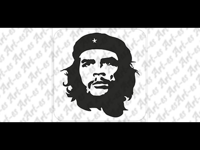 szablon do tatuażu Ernesto Che Guevara