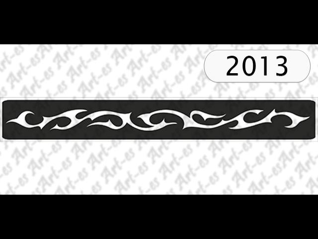 szablon do tatuażu Opaska
