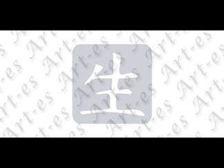 szablon wielokrotny do tatuażu - wzór Chiński