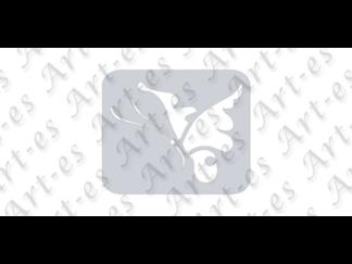 szablon wielokrotny do tatuażu - wzór Motyl
