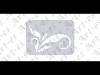 szablon wielokrotny do tatuażu - wzór Motyw Roślinny