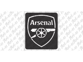 szablon do tatuażu - Arsenal