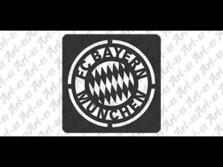 szablon do tatuażu Bayern Monachium