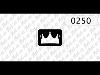 Szablon korona
