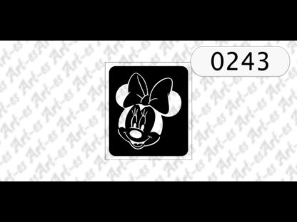 Szablon Myszka Minnie